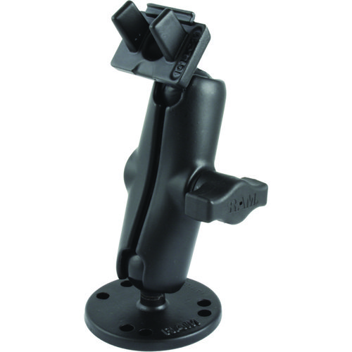 RAM 1' Ball Marine Electronic Light Use Mount for Lowrance Fishfinders