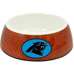 GameWear Carolina Panthers Classic NFL Football Pet Bowl