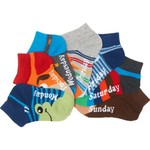 BCG™ Boys' DOW Character Face Low Cut Socks 7-Pack