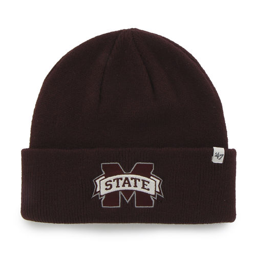 '47 Men's Mississippi State University Raised Cuff Knit Cap