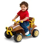 KidTrax Boys' Disney Junior Jake and the Never Land Pirates 6V Quad Ride-On