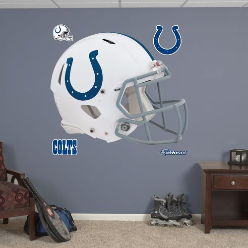 Fathead Indianapolis Colts Helmet and Team Decals 5-Pack