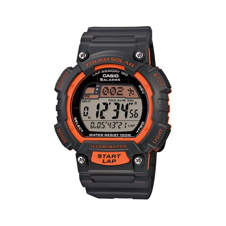 Casio Men's Tough Solar 120-Lap Digital Runner's Watch