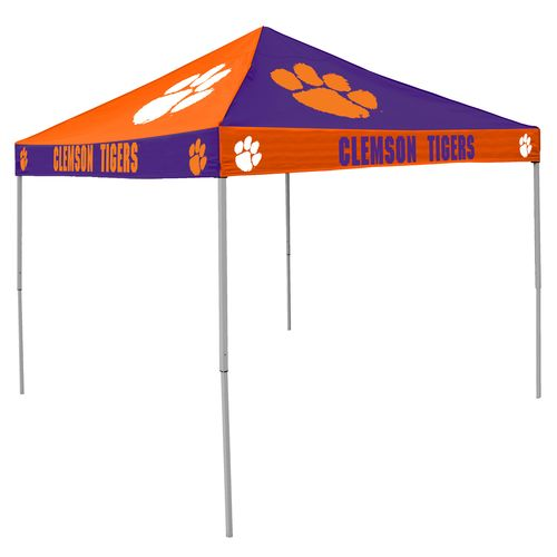Logo Clemson University Straight-Leg 9 ft x 9 ft Checkerboard Tent