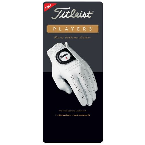 Titleist Mens' Players Left-Hand Golf Glove - view number 3
