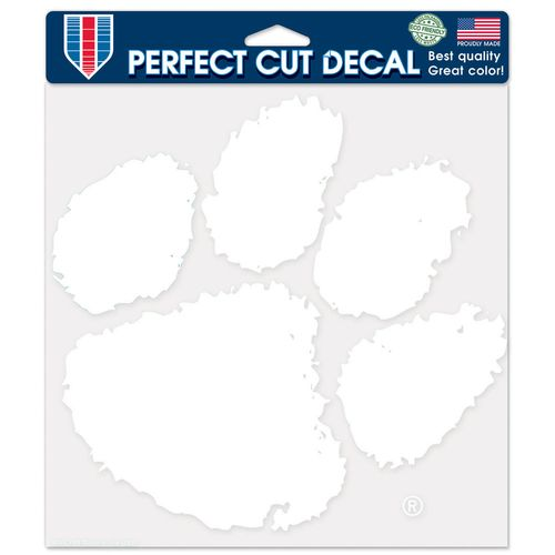 WinCraft Clemson University Perfect Cut Decal - view number 1