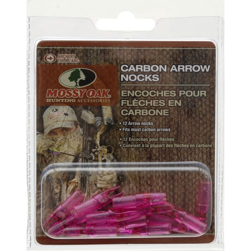 Mossy Oak Carbon Arrow Nocks 12-Pack