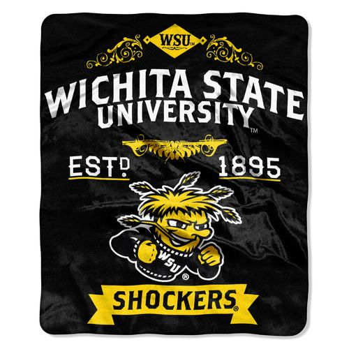 The Northwest Company Wichita State University Label Raschel Throw