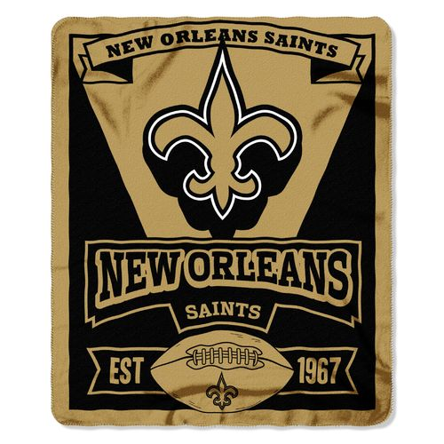 The Northwest Company New Orleans Saints Marquee Fleece Throw