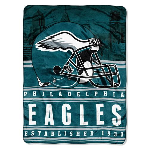 The Northwest Company Philadelphia Eagles Stacked Silk Touch Throw