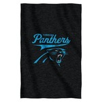 The Northwest Company Carolina Panthers Sweatshirt Throw