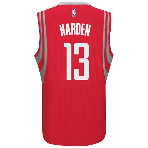 adidas™ Adults' Houston Rockets James Harden #13 Swingman Jersey