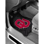 The Northwest Company University of Oklahoma Car Floor Mats 2-Pack - view number 1
