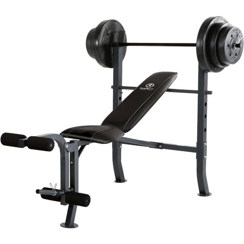 Marcy Weight Bench Set Academy