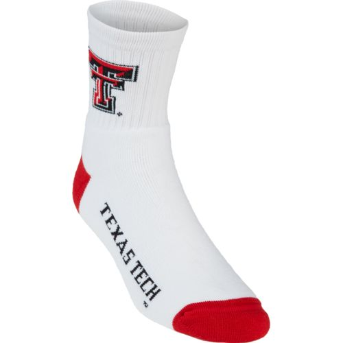 For Bare Feet Adults' Texas Tech University Quarter