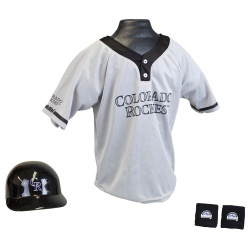 Franklin Kids' Colorado Rockies Uniform Set