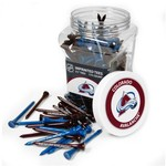 Team Golf Colorado Avalanche Tees 175-Pack - view number 1