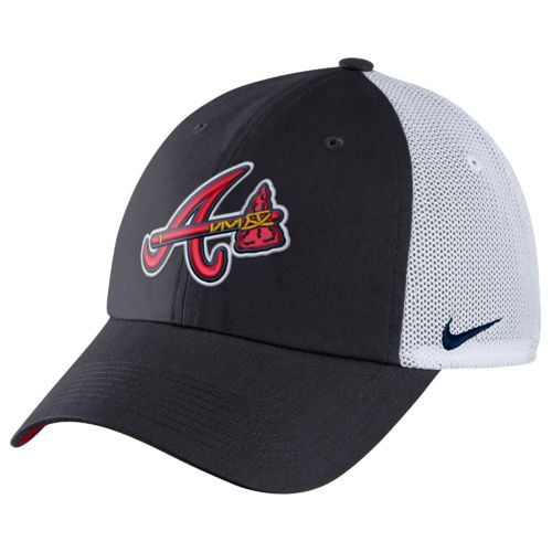 Nike Adults' Atlanta Braves Heritage86 Dri-FIT Cap