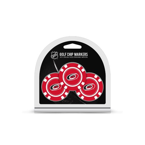 Team Golf Carolina Hurricanes Poker Chip and Golf Ball Marker Set
