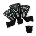 Team Golf San Jose Sharks Contour Sock Head Covers 3-Pack - view number 1