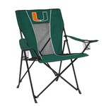 Logo University of Miami Game Time Chair