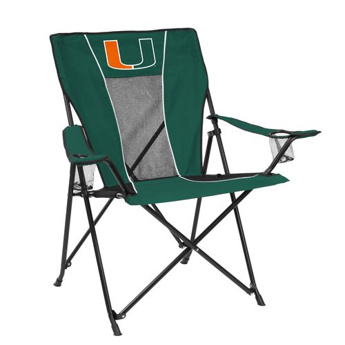 Logo™ University of Miami Game Time Chair