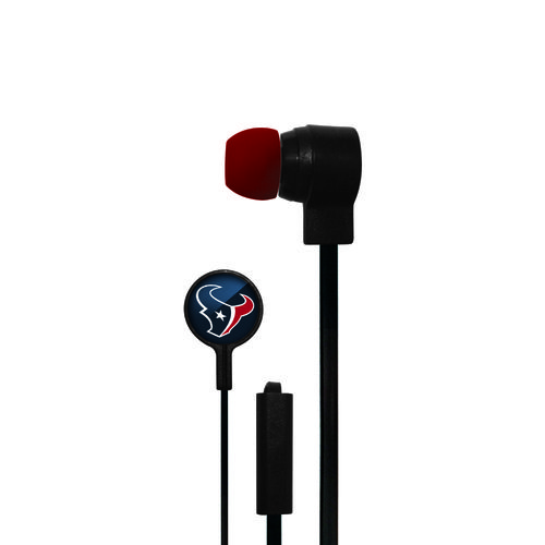 Mizco Houston Texans Big Logo Earbuds