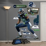 Fathead Seattle Seahawks Richard Sherman Cornerback Real Big Wall Decal