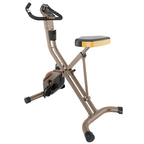 Exerpeutic 500 XLS Foldable Magnetic Upright Exercise Bike - view number 2