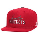 adidas Women's Houston Rockets Snapback Script Cap