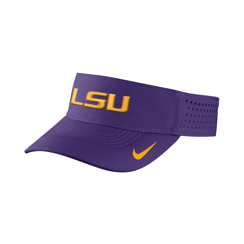 Nike™ Men's Louisiana State University Vapor Adjustable Visor