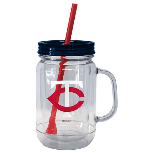 Boelter Brands Minnesota Twins 20 oz. Handled Straw Tumblers 2-Pack