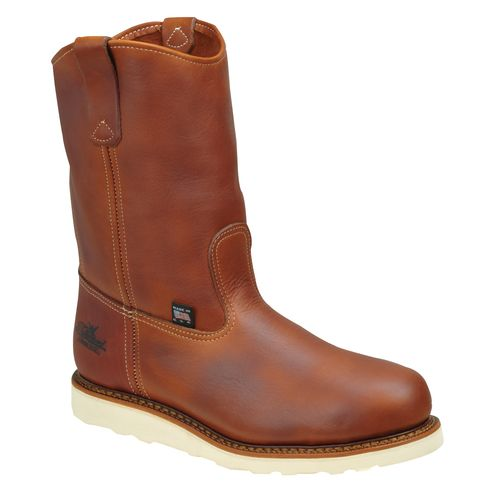 Thorogood Shoes Men's American Heritage Safety Toe Wedge Wellington Work Boots