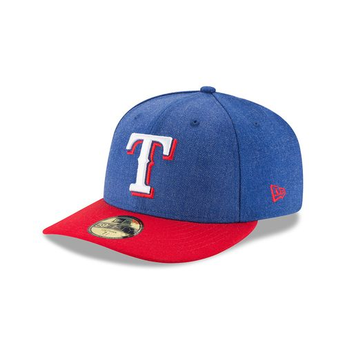 New Era Men's Texas Rangers Heather Action 59FIFTY Cap