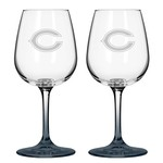 Boelter Brands Chicago Bears 12 oz. Wine Glasses 2-Pack - view number 1