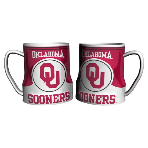 Boelter Brands University of Oklahoma Gametime 18 oz. Mugs 2-Pack - view number 1