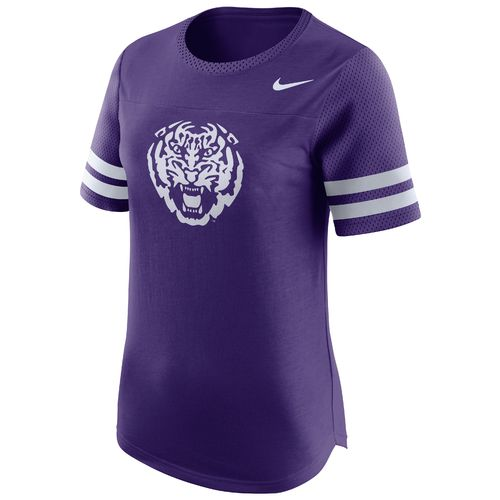 Nike Women's Louisiana State University Modern Fan Top