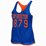 Colosseum Athletics Women's Sam Houston State University Triple Crown Reversible Tank Top
