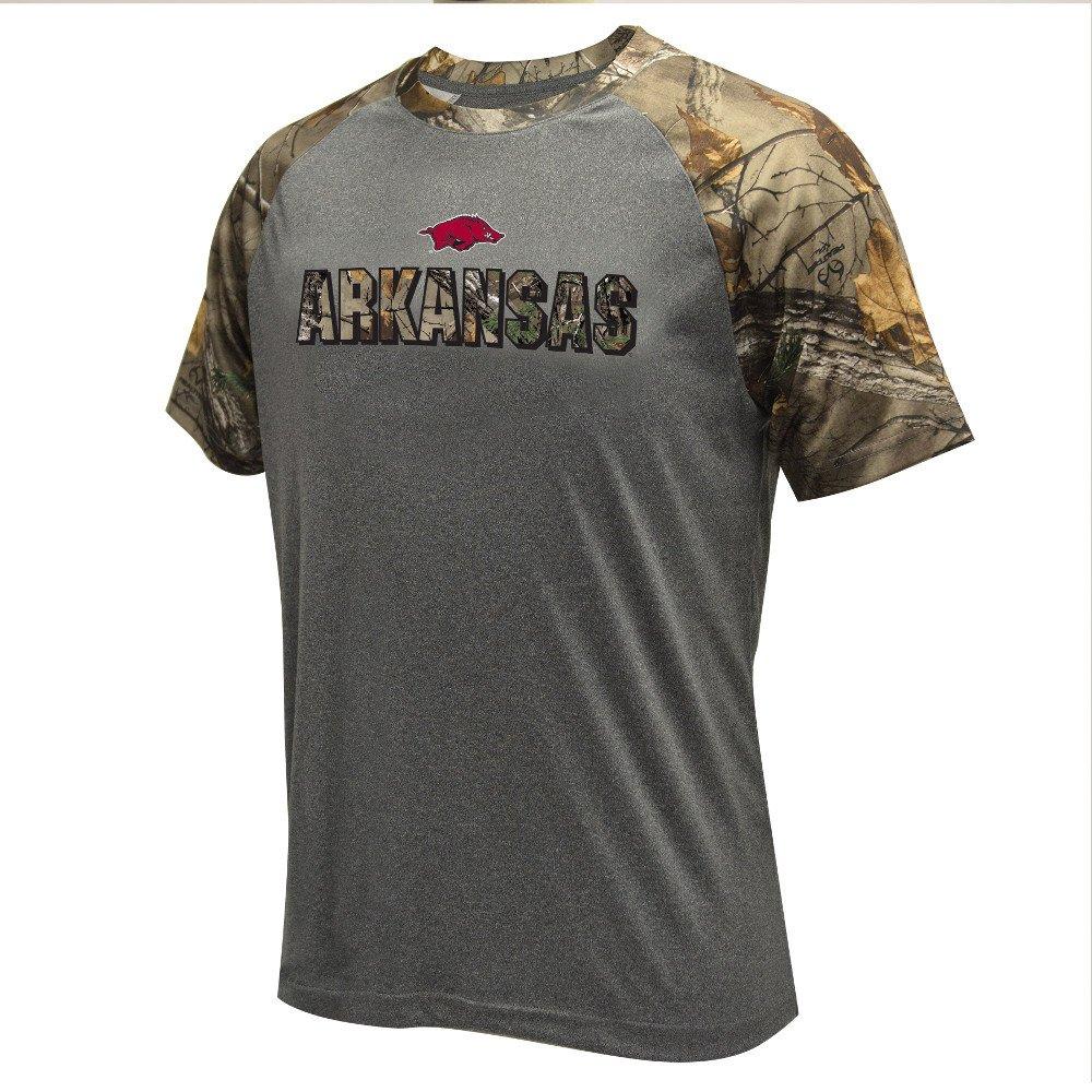 Colosseum Athletics Men's University of Arkansas Realtree Switch