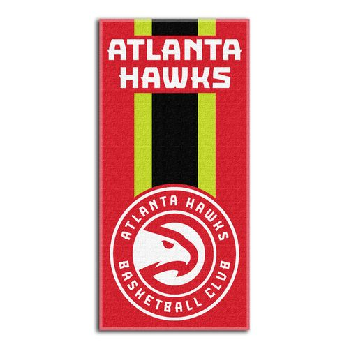 The Northwest Company Atlanta Hawks Zone Read Beach Towel