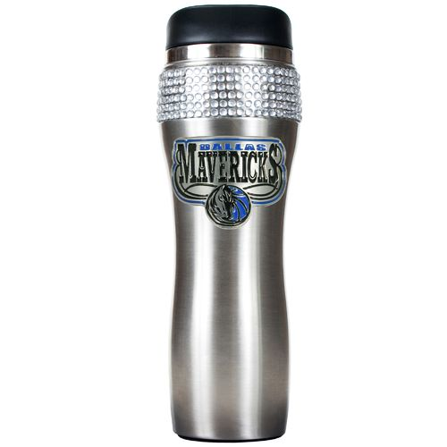 Great American Products Dallas Mavericks 14 oz. Stainless-Steel