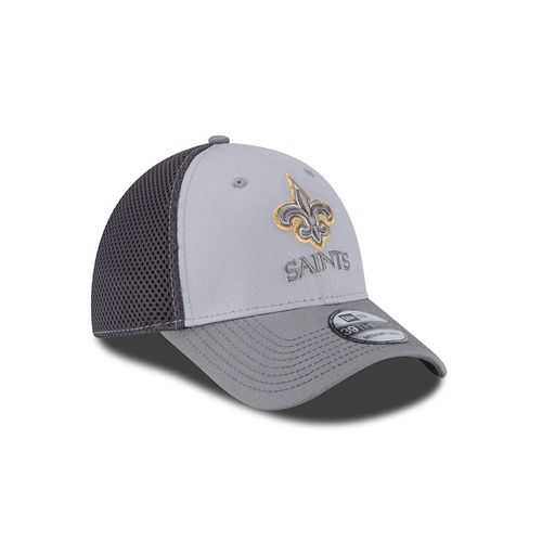 New Era Men's New Orleans Saints Grayed Out Neo 39THIRTY Cap - view number 3