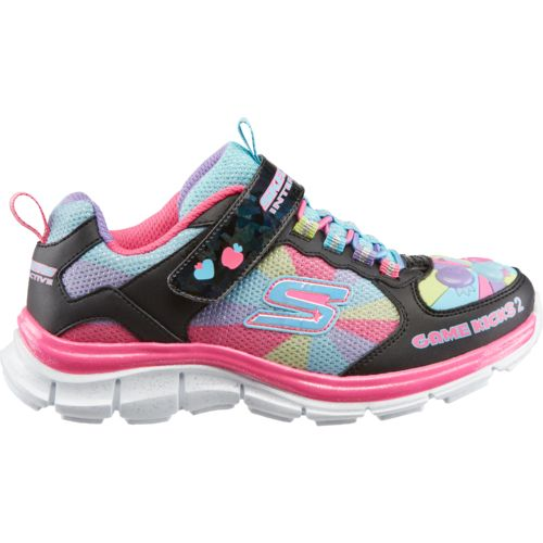 SKECHERS Girls' Game Kicks II Juicy Smash Shoes