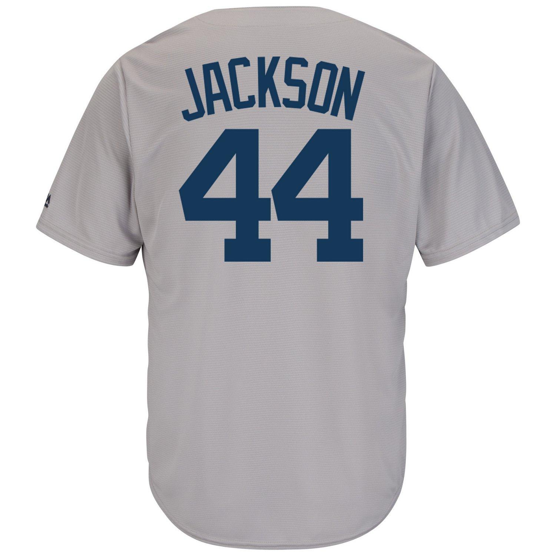 Majestic Men's New York Yankees Reggie Jackson #44 Cooperstown Cool Base 1927 Replica Jersey