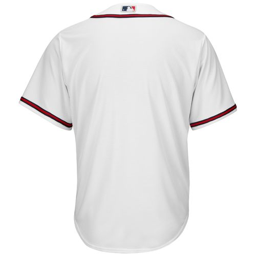 Majestic Men's Atlanta Braves Cool Base Replica Jersey - view number 2