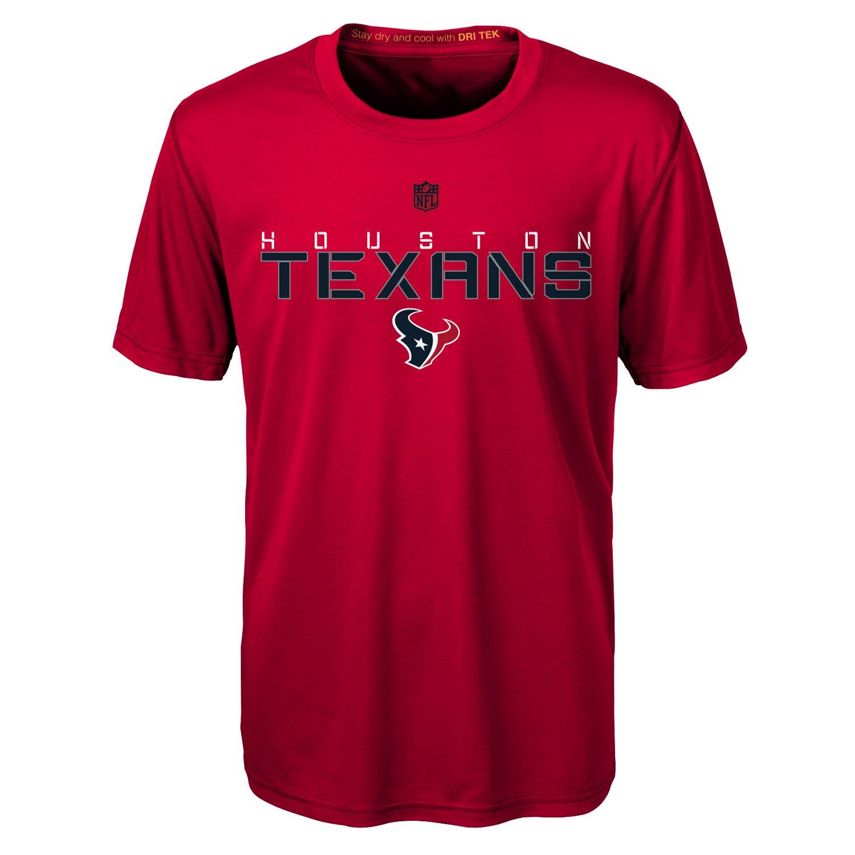 NFL Boys' Houston Texans Dri-Tek Maximal T-shirt