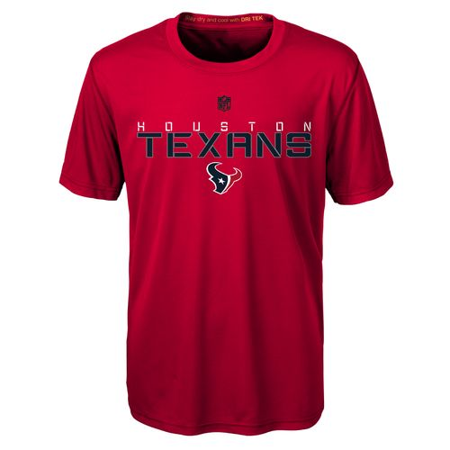 NFL Boys' Houston Texans Dri-Tek Maximal T-shirt