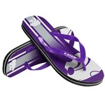 Forever Collectibles™ Adults' Kansas State University Gradient Big Logo Flip-Flops