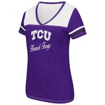 Colosseum Athletics™ Women's Texas Christian University Rhinestone Short Sleeve T-shirt