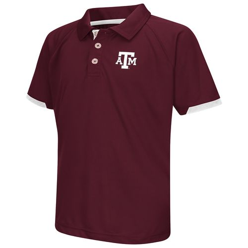 Colosseum Athletics™ Boys' Texas A&M University Spiral Polo Shirt